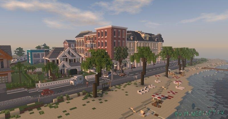 Bayville - Realistic roleplay town - реалистичный город с автомобилями [1.17.1] [1.16.5]
