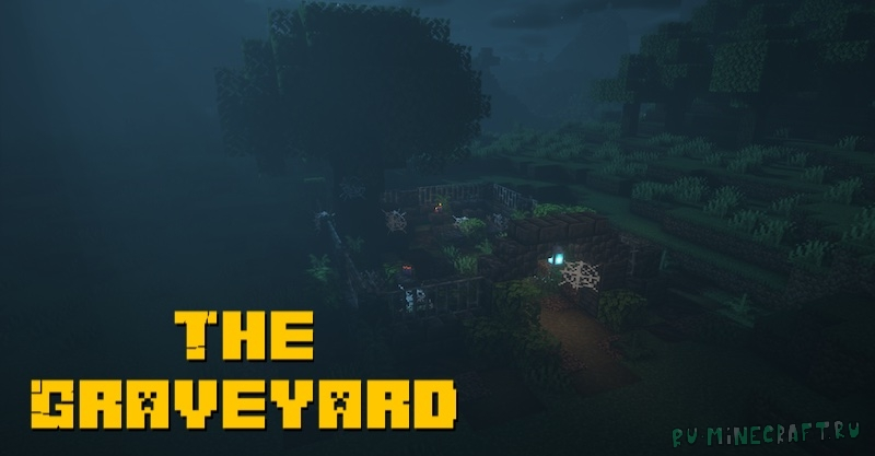 The Graveyard - кладбища в майнкрафте [1.17.1] [1.16.5]