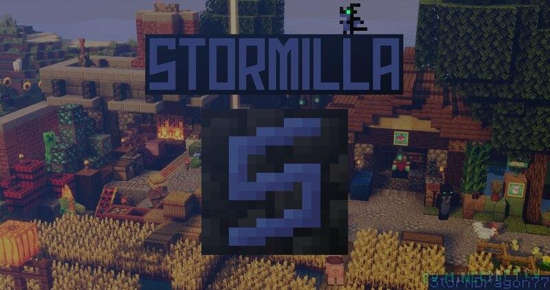 Stormilla - годный vanilla style ресурспак [1.17.1] [16x]