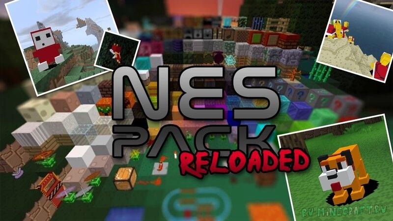 Linksu's NES Pack //Reloaded// - ресурспак в стиле игры NES [1.17.1] [16x]