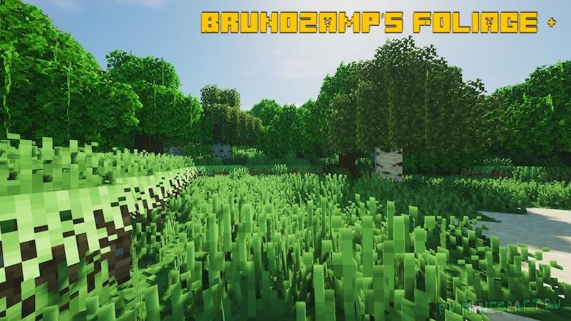 Brunozamp's Foliage + - красивая растительность [1.17.1] [1.16.5] [1.15.2] [1.14.4] [16x]