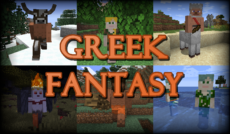Greek Fantasy - древнегреческая мифология [1.16.5]
