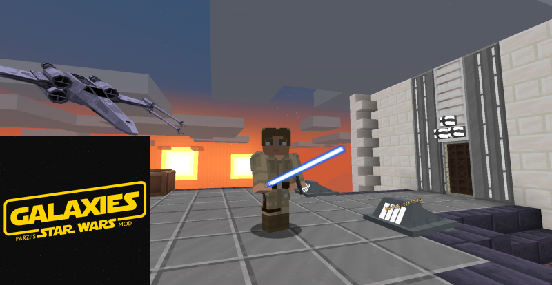 Galaxies: Parzi's Star Wars Mod - мод на звездные войны [1.17.1]