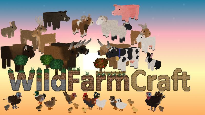 WildFarmCraft - новые дикие и домашние животные [1.16.5]