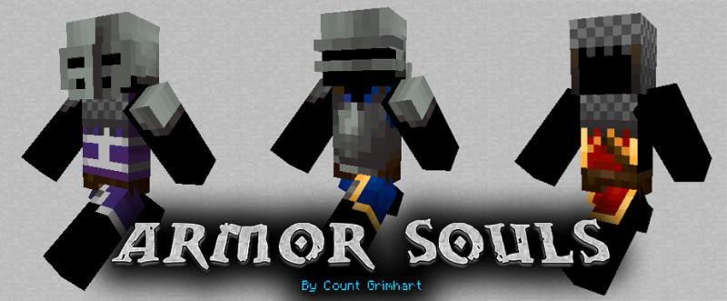 Armor Souls: Reforged - много средневековой брони [1.16.5] [1.12.2]