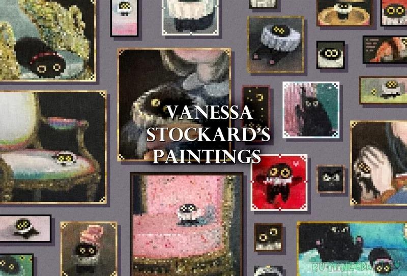 Vanessa Stockard's Paintings - милые картины с котиками [1.17.1] [1.16.5] [16x]