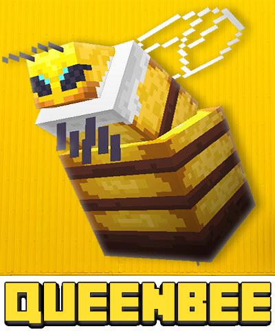 Queen Bee - королева пчела, мини босс [1.16.5]
