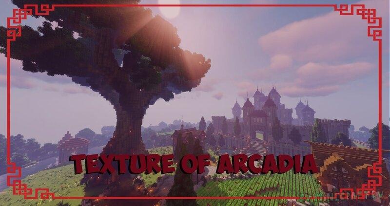 Texture of Arcadia - приятные текстуры с кучей фишек [1.16.5] [16x]