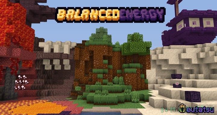 Balanced Energy - сбалансированные текстуры [1.17.1] [16x]