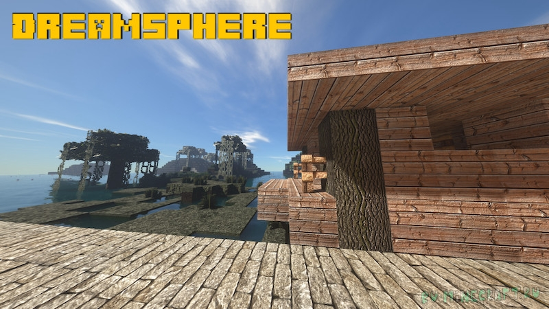 Dreamsphere -  приятные текстуры с анимациями [1.17.1] [256x] [128x] [64x] [32x]