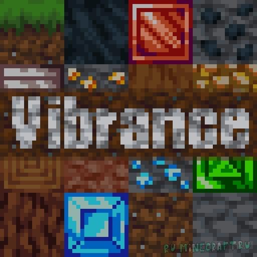 Vibrance - яркий old-style [1.17.1] [16x]