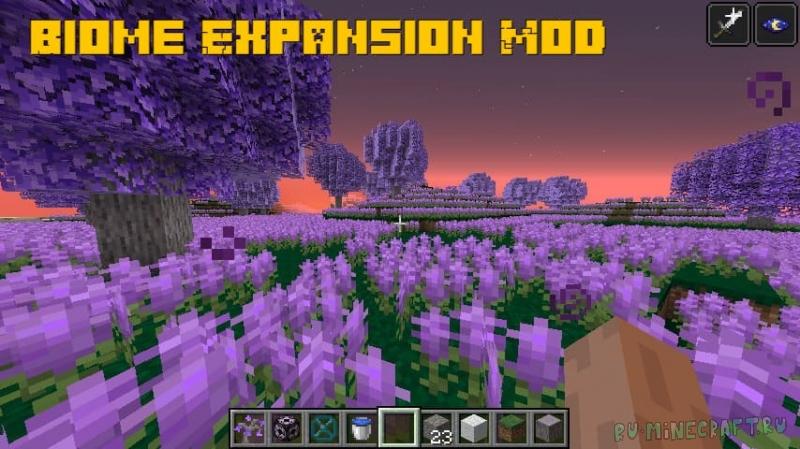 Biome Expansion Mod - новые красивые биомы [1.16.5]