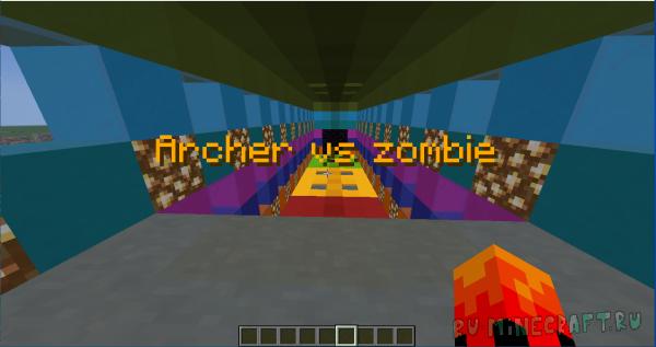 Archer vs zombie - борьба с зомби [1.17.1] [1.16.5]