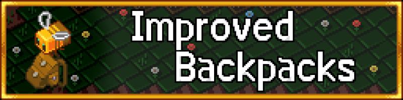Improved Backpacks - улучшенные рюкзаки [1.16.5] [1.12.2] [1.11.2] [1.10.2]