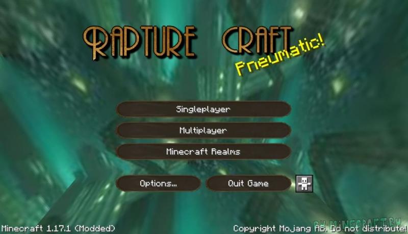 BioShock Texture Pack (Rapture Craft) - текстуры по биошоку [1.17.1] [1.16.5] [32x]