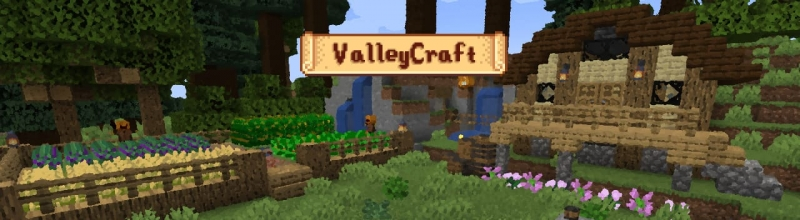 ValleyCraft - растения, инструменты, декор, еда [1.17.1]