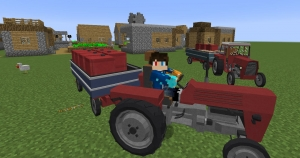 Rossmeister Pack - трактор для симулятора транспорта [1.12.2]
