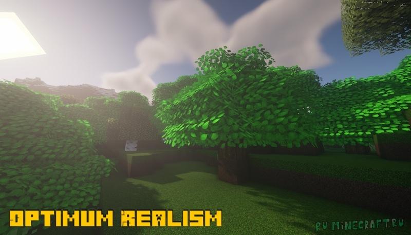 Optimum Realism - реалистичные текстуры [1.17.1] [1.16.5] [128x]