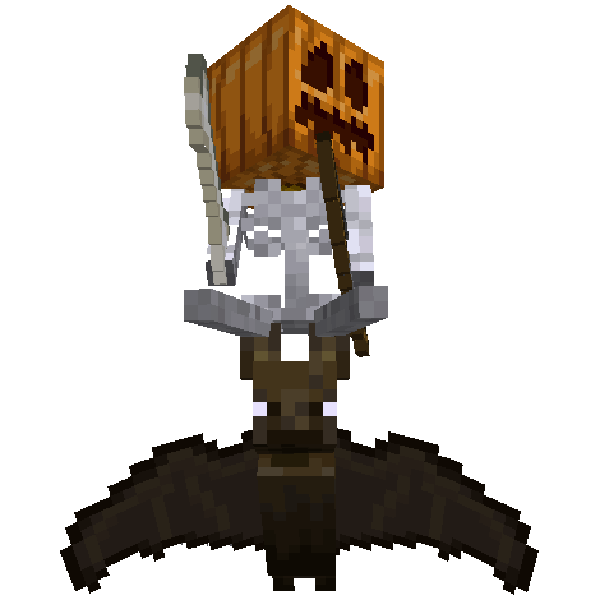 Spooky Scary Jockeys - скелетон на летучей мыши [1.17.1] [1.16.5]