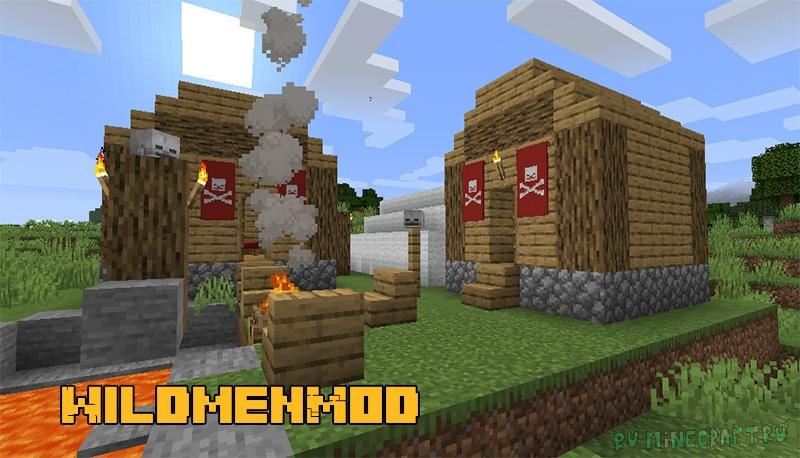 WildmenMod - лагерь с бандитами [1.16.5]