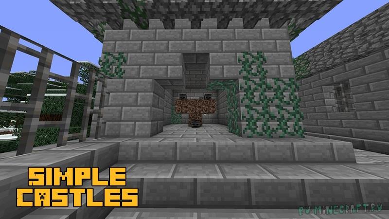 Simple Castles - небольшие замки [1.12.2]