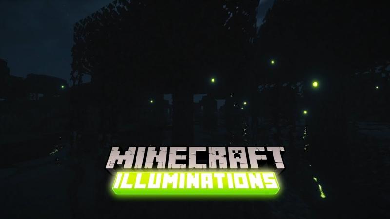 Illuminations - светлячки, светящиеся питомцы [1.17.1] [1.16.5] [1.15.2] [1.14.4] [1.12.2]