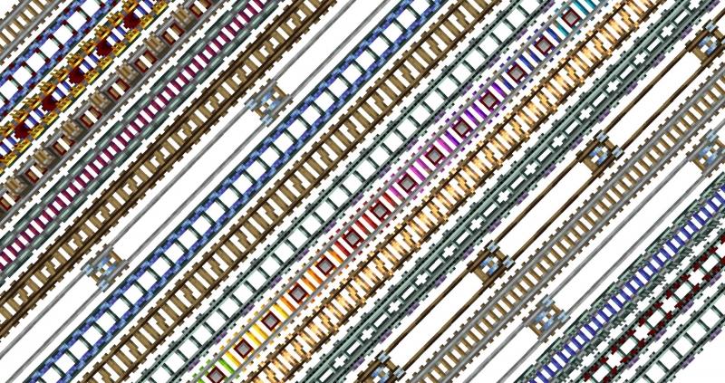 More Minecarts and Rails - новые рельсы и вагонетки [1.16.5]