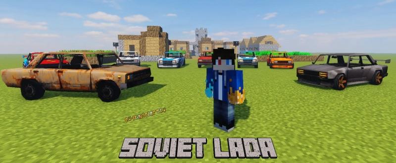 Soviet Lada - пак лад - жигулей для симулятора транспорта [1.12.2]