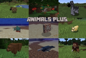 Animals Plus - различные животные и лут с них [1.16.5] [1.8.9] [1.7.10]
