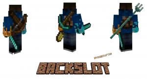 BackSlot - отдельный слот для оружия на спине [1.17.1] [1.16.5]