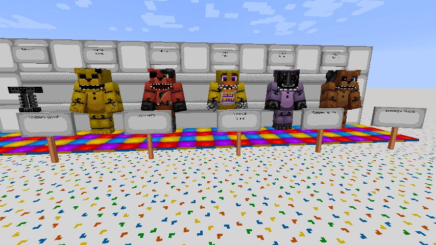 скачать скины для Minecraft фнаф - фото 9