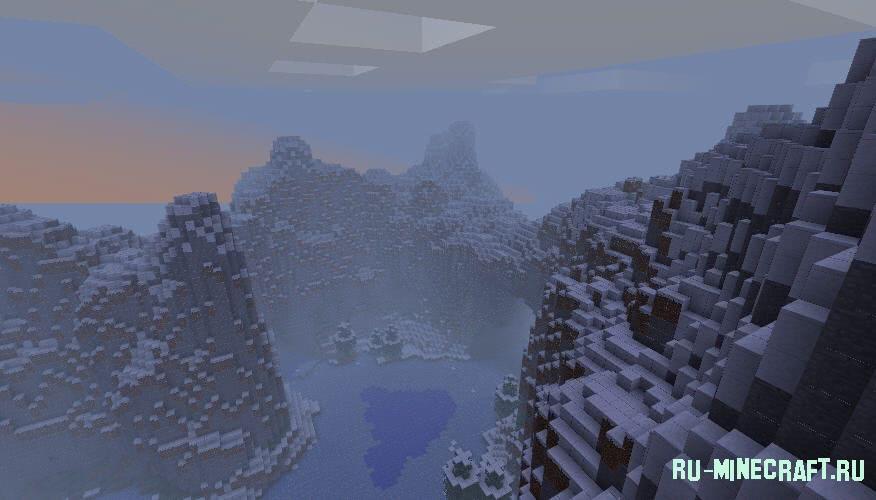 Island очень красивая карта для minecraft