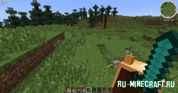 Mo creatures 30 новых мобов в minecraft
