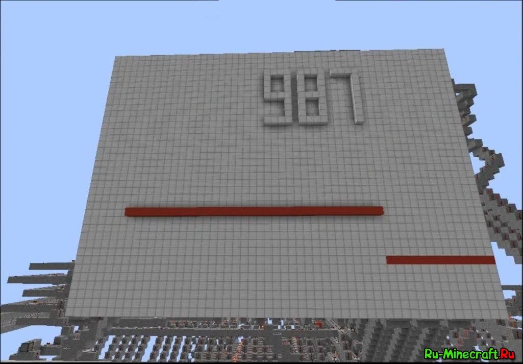 Калькулятор в Minecraft