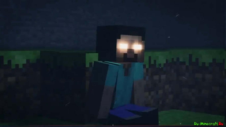 Видео minecraft отважный воин и злой herobrine