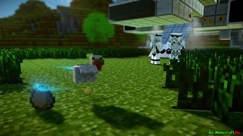 Minecraft star wars майнкрафт против империи