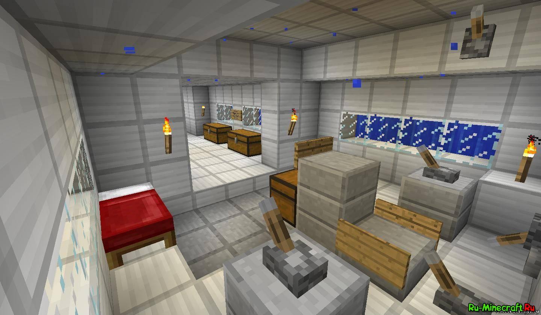 minecraft 1.5.2 скачать карту подводная лодка для minecraft