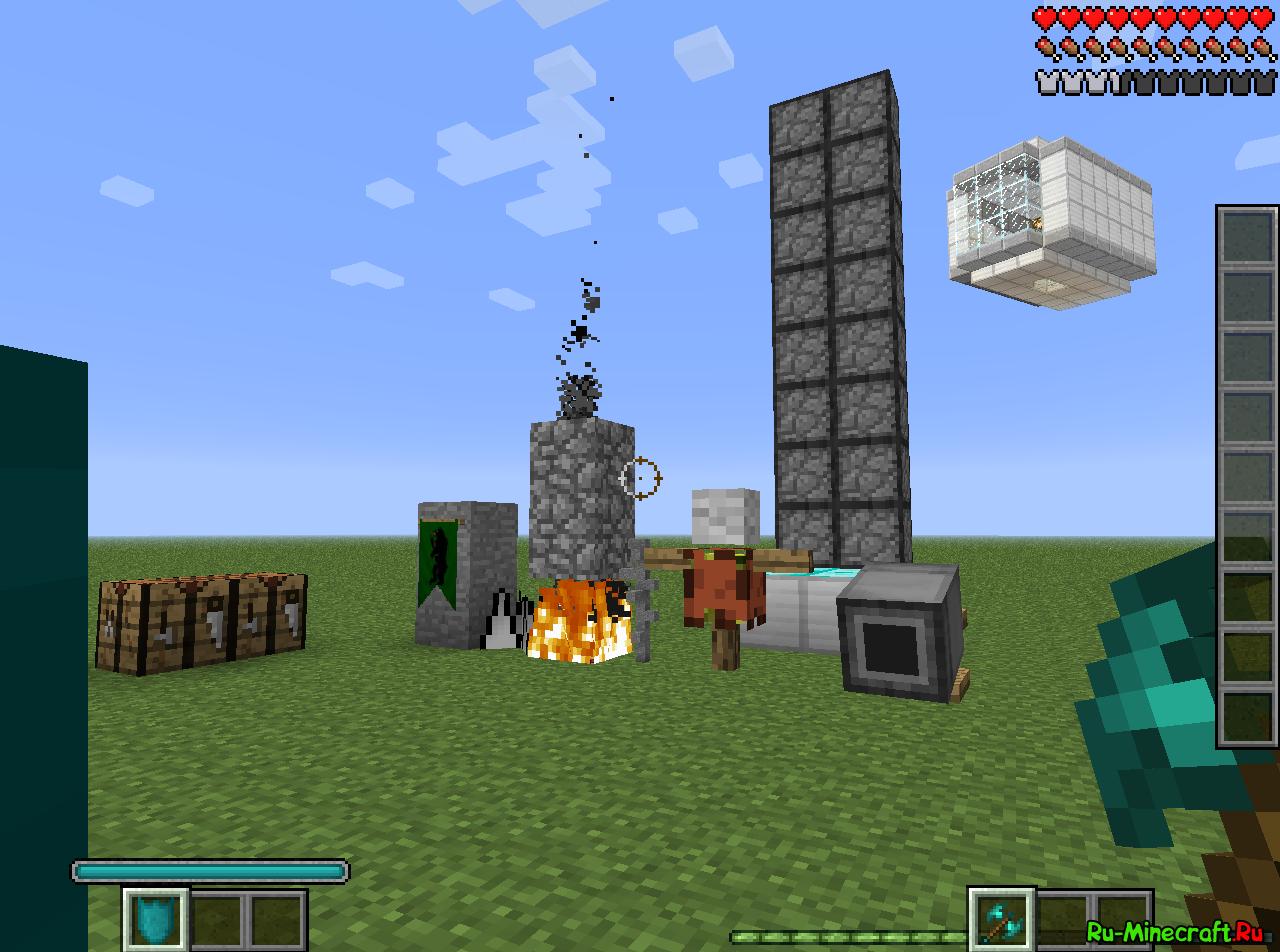 Minecraft с модами фото