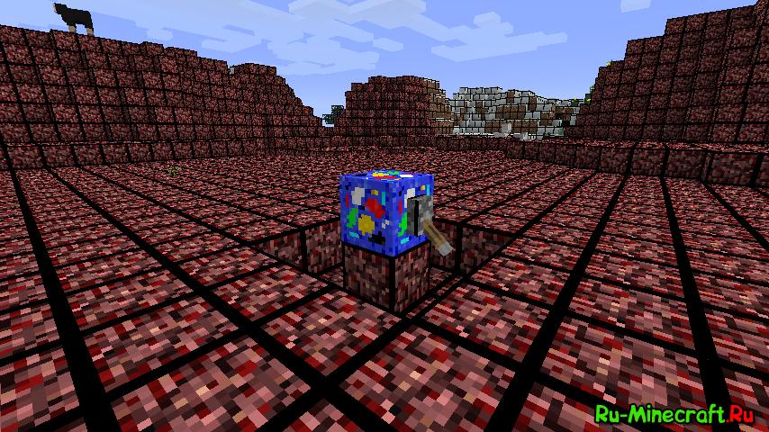 Minecraft рецепты адский камень