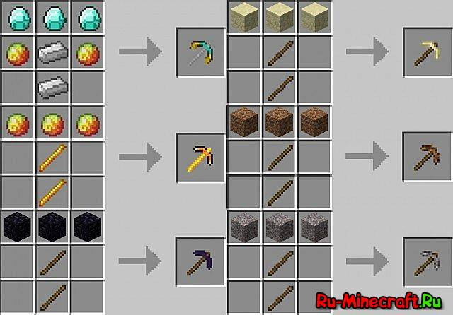 Для minecraft 1 3 2 more pickaxes for minecraft 1 3 2 rar 15 12