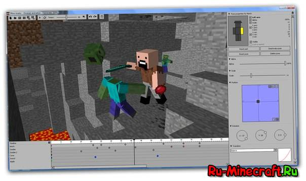 Mine imator 0 6 2 minecraft Minecraft 3d model maker