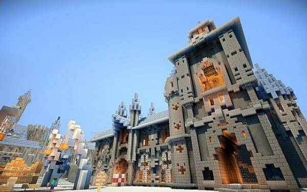 Swordhaven's Castle - большой замок