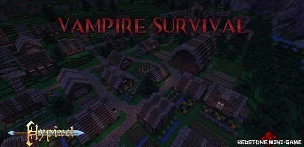 [MAP] Vampire Survival (PvP Map) - интересная пвп-карта