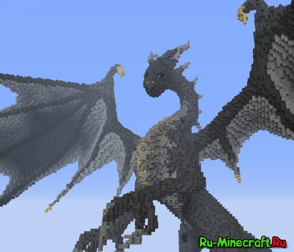 Как в майне сделать дракона