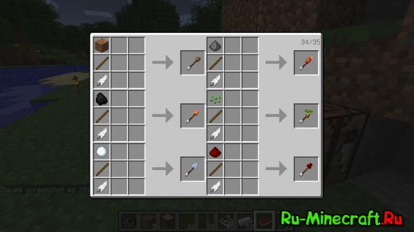 Как сделать цветную ракету в майнкрафт