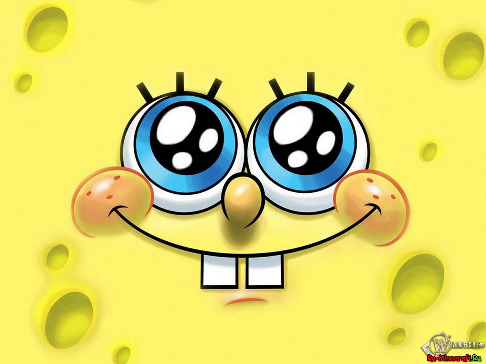 мод spongebob