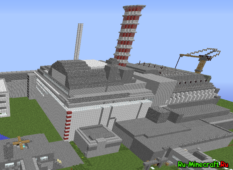 Карта АЭС-Атомная Электро