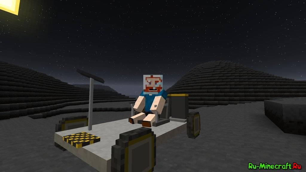 Galacticraft Mod 1891710 Moon Spaceship Space