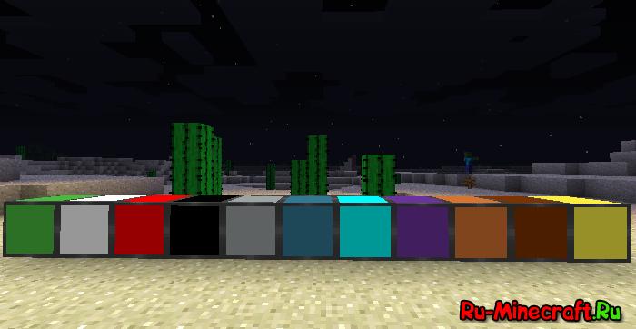 Lightcraft светящиеся блоки