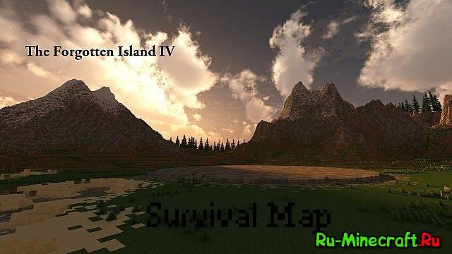 Скачать карту для minecraft остров